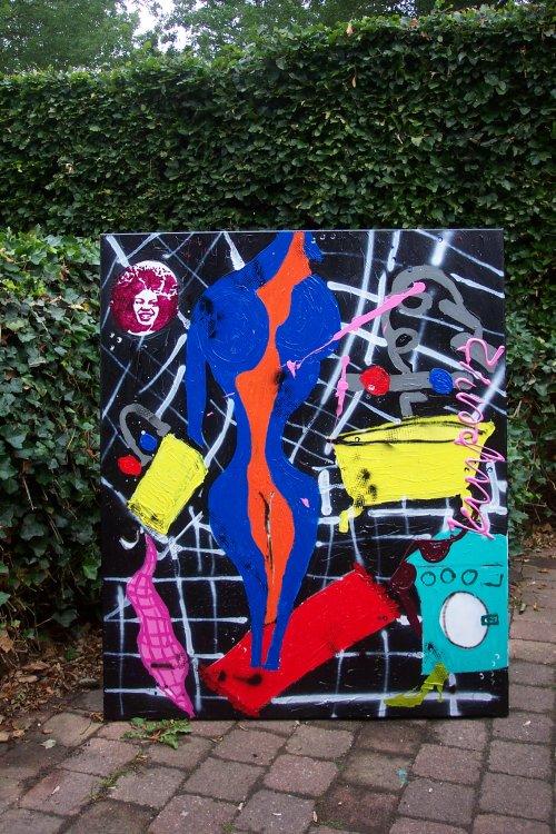 2012 afm 120x100 kwaliteitsmateriaal zijkanten zijn meegeschilderd gedateerd en gesigneerd prijs op aanvraag  VERKOCHT
